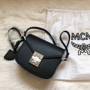 MCM black crossbody